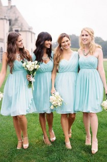 wedding photo - Gorgeous bridesmaid Dress