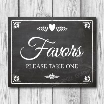 wedding photo - Chalkboard Wedding Sign, Printable Wedding Sign, Chalkboard Wedding Favors Sign, Wedding Decor, Wedding Signage, Instant Download