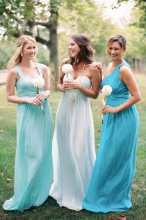 wedding photo - Beautiful Bridesmaid Gown