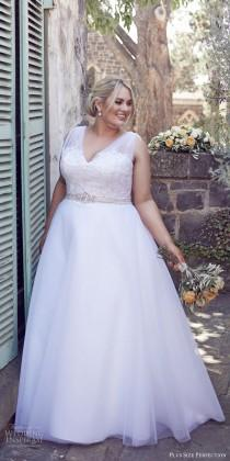 """wedding photo - Plus Size Perfection Wedding Dresses — """"It's A Love Story"""" Campaign"""