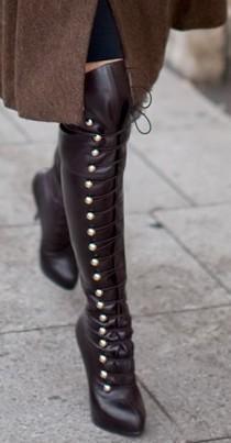 wedding photo - Neo Victorian Boots