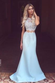 wedding photo - Light BlueDress