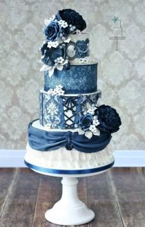 wedding photo - Beautiful cake