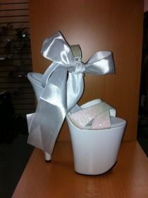 "wedding photo - 8"" Pearl Glitter"