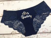 218a2ef7e Bridal Shower Gift for Bride, Bride Panties, Personalized Panties Underwear,  Honeymoon, Bachelorette Gift, Bride Gift, Wedding Gift