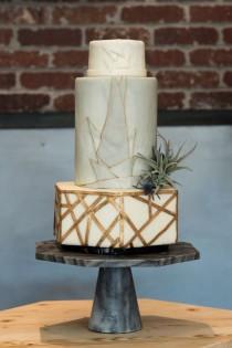 wedding photo - Dreamy Non-Traditional Geometric Desert Romance Wedding In Arizona