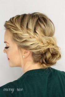 wedding photo - Fishtail Braided Updo (Missy Sue)