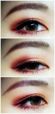 wedding photo - SMOKEY EYES