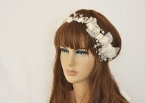 wedding photo - seashell headpiece,seashell headband,seashell hair accessories,seashell crown,beach wedding,seashell tiara,seashell hair comb,seashell crown