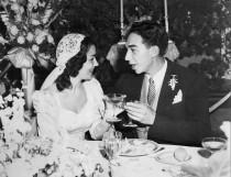 wedding photo - Vintage Wedding at The Pierre's Grand Rooftop Ballroom, July 14, 1946 :: Lila & Morton