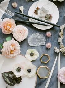 wedding photo - Moody Gray Inspiration Shoot