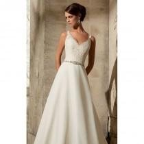 wedding photo - Chiffon Gown by Blu by Mori Lee - Color Your Classy Wardrobe