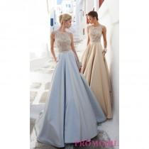 wedding photo - Long High Neck Formal Gown by Tarik Ediz - Discount Evening Dresses