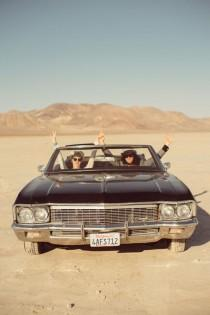 wedding photo - Wedding Inspired by Fear and Loathing in Las Vegas