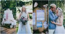 wedding photo - Eclectic Earth: How to Style A Geode + Crystal Wedding