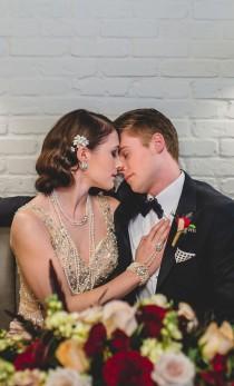 wedding photo - Fabulous Boardwalk Empire Wedding Inspiration - Belle The Magazine