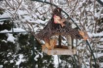 wedding photo - Bird feeder, rustic bird feeder, birdhouse, outdoor birdhouse, rustic birdhouse, wooden birdhouses, bird houses handmade, bird lover gift