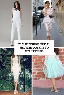 wedding photo - 28 Chic Spring Bridal Shower Outfits To Get Inspired - Weddingomania