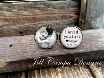 wedding photo - FATHER of the BRIDE - Father of the Bride Cufflinks - Custom Photo Cuff Links - Wedding Cufflinks - Cuff Links - Father of the bride gift