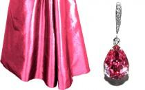 wedding photo - Rose Pink Crystal Earrings Blush Pink Rhinestone Earrings Wedding Pink Earrings Swarovski Pink Teardrop Earrings Bridesmaid Earrings Bridal