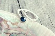 wedding photo - Diamond ring, rose cut diamond ring, Raw diamond ring, Twig ring, twig diamond ring,engagement ring, elf ring, elvish ring, promise ring