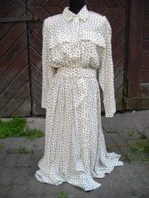 wedding photo - Sale 20% off/Vintage beauty 80 s cotton dress,size M/bridal/wedding/rustic/ unique,ecofriendly, to Wear dress BASKET/Boho/Hippie