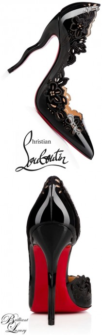 wedding photo - ♦Christian Louboutin 'Black Edition' 2015