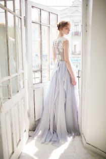 wedding photo - Grey Wedding Dress // Iris