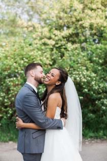 wedding photo - A Purple Garden-Themed Wedding In Toronto