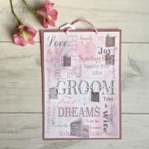 wedding photo - Wedding Advent Calendar,Wedding Countdown,Personalized Wedding Gift,Bride Countdown,Brides Wedding Gift,Gift from Bridesmaid,Wedding Card