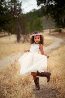 Girls Dresses with Cowboy Boots