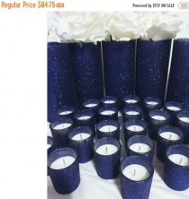 wedding photo - ON SALE Navy Wedding, Centerpiece, Navy Wedding Centerpiece, wedding, wedding decorations, gold wedding, wedding favors, bridal shower, wedd