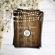 wedding photo - Rehearsal Dinner Invitation, formal rehearsal invitations,  rustic barn wedding printable wedding invites, rehearsal invites, rustic wedding