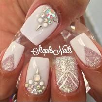 wedding photo - Nailart