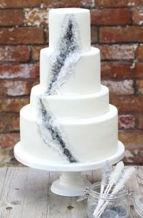 wedding photo - Rock Candy cake