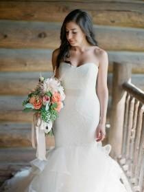 wedding photo - 15 Fabulous Mermaid-Style Wedding Dresses With A Sweetheart Neckline