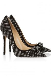 wedding photo - Jimmy Choo - Maya Studded Suede Pumps