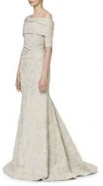 wedding photo - Carolina Herrera Jacquard Evening Gown