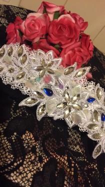 wedding photo - Vintage flower rhinestone hairpiece, hair tiara, rhinestone head piece, wire bridal tiara, pearl rhinestone headpiece. Beautiful gift