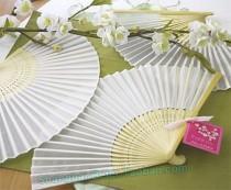 wedding photo - Luxurious Silk Fan BETER-ZH002