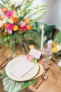 wedding photo - Palm Beach Tropical Inspiration Shoot