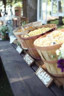 wedding photo - Inventive Wedding Food And Drink Stations Your Guests Will Love