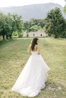 wedding photo - Rustic Outdoor Wedding At Borgo Dei Conti Della Torre In Italy