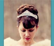 wedding photo - wedding hairpiece bun hair style accessory large Bridal hair piece wedding formal headpiece wedding hair wig UpDo chignon your color