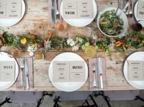 wedding photo - Garden Party Menu And Decor Ideas