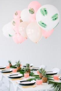 wedding photo - Tropical Bridal Shower Ideas