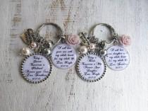 wedding photo - MOTHER of the BRIDE gift Keychain Mother of the GROOM gift Necklace with Personalized Wedding Gifts custom gifts for mother in law
