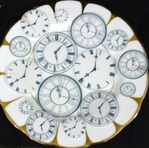 wedding photo - Edible Clock Faces Wafer Rice Paper Wedding Cake Decorations Steampunk Cupcake Cookie Toppers Mad Hatter Alice in Wonderland Tea Party Watch