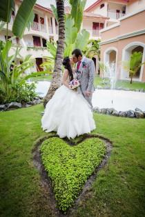 wedding photo - A Whimsical Beach Wedding In Punta Cana