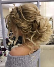 wedding photo - Gorgeous Braided Wedding Hairstyle